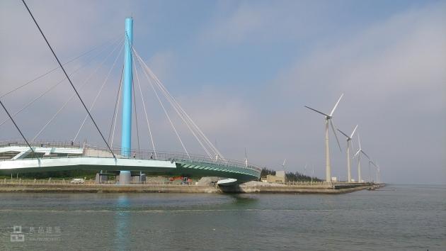 台中市清水區 高美濕地景觀橋規劃設計 3